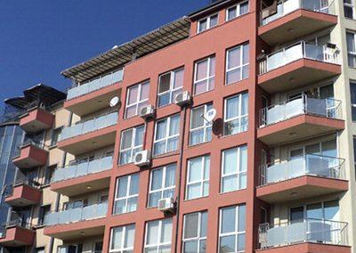 Жилищна сграда в кв. Мотописта